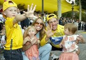 Lance Armstrong's family