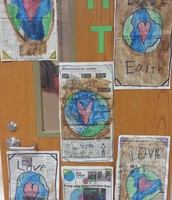 More Earth Day Art