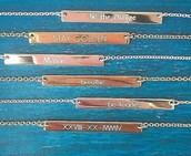 New Delicate Engravables!