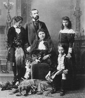 Lord and Lady Aberdeen and Family