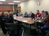 LAC-O Student Engagement Committee Meeting:  December