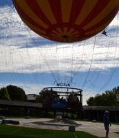 It's a bird.. It's a plane.. It's a hot air balloon?