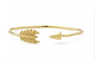 Gilded Arrow Bangle