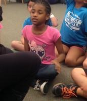 Jurnnie was AMAZING at this comprehension activity!