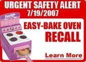 Easy Bake Oven Recall