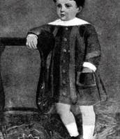 Antonio Machado de niño