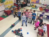 Robots being taken over by Mrs. Zucchi's Kinders!