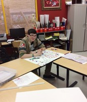 Braeden works on Geometry Visual Component