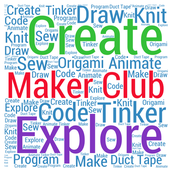 MakerSpace in the Library Media Center...