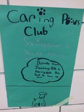 Community Minded Students Create Caring Paws Club