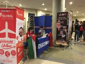 Physical Booth in SU UTHM