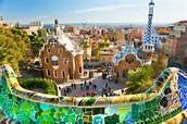 Park Guell Barcelona Spain