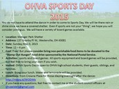 Join us for Sports Day!!!!