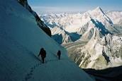 High on the west ridge