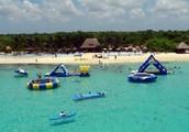 La playa de Cozumel