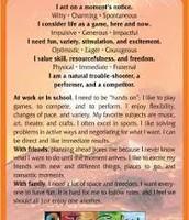 Orange Personality Type