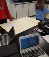 8th graders determining best heating systems