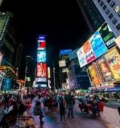 You should visit times sqare