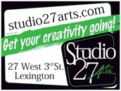 We are Studio27Arts!!