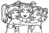 Nikki, Zoey, and Chloe