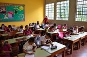 La clase de Paraguay