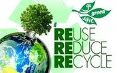 Recycling makes our earth better