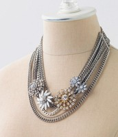 Metropolitan Mixed Chain Necklace - $100