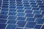 Solar power is renewable