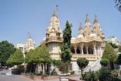 Shahibaug baps temple