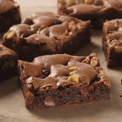 Double Fudge Chocolate Chip Brownie
