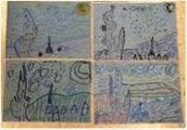 Starry Night-Inspired Artworks