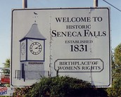 """Seneca Falls became known as the """"birthplace of women's rights"""""""