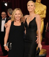 Charlize and Her Mother at the 2014 Oscars