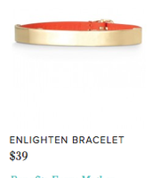 Enlighten Bracelet  Reg $39 ~ Sale $20