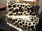 Animal Print (Cheetah, Leopard, etc) Decorative Tissue Box Covers & Pillows