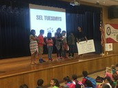 Ms. Ruiz's 5th grade Panthers teach us about being assertive at SEL Tuesday Assembly!