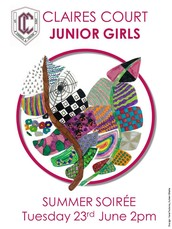 Tuesday 23 June - JUNIOR SUMMER SOIREE from 2pm