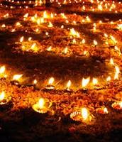 Diwali Candlelight