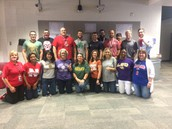 NTH@C Faculty Wear Their College Colors