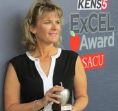 CHS Teacher Awarded KENS 5 ExCEL Award