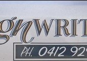 Sign Writer In Perth