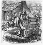 Log Cabin, Virginia, 1870