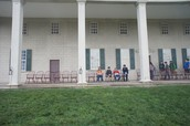 Sitting at Mount Vernon