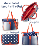 Keep It In the Bag - Diaper Bag and Diaper Roll