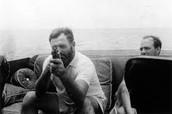 Hemingway in WWII