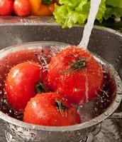 Washing Fruits & Vegetable