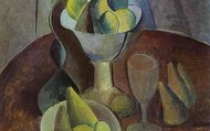 """Compotier Fruit and Glass"""