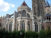 The church of our lady in Brugge