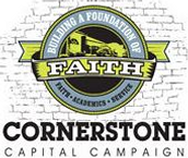 Make a year-end gift to the Cornerstone Capital Campaign!