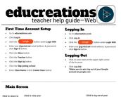Teacher Help Guide